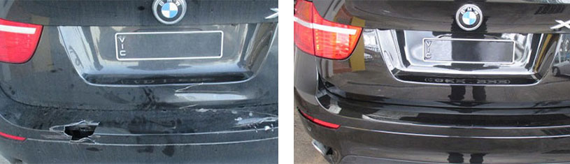 bmw before after repair sheen fw