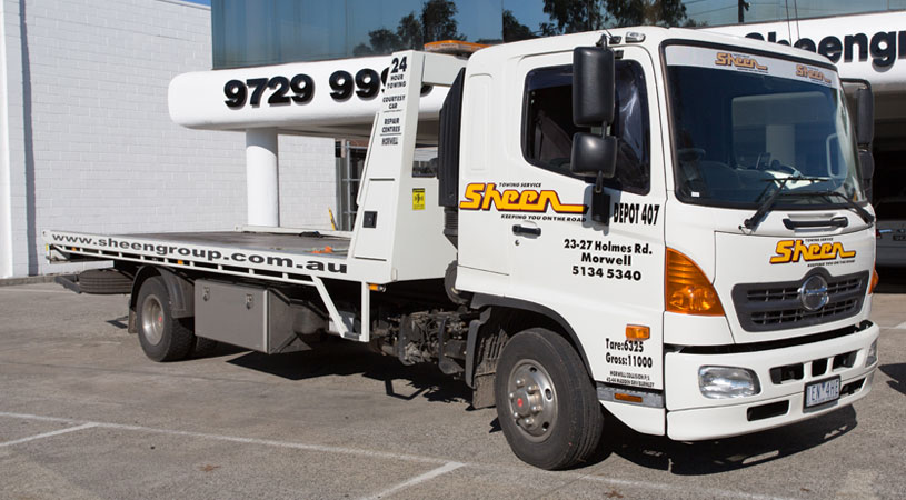 car towing prices melbourne tow truck