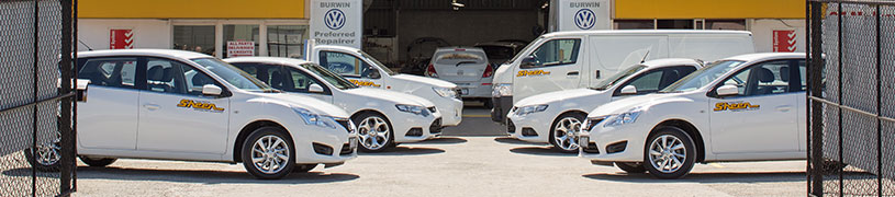 accident replacement vehicle fleet yard