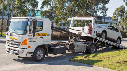 sheen towing truck