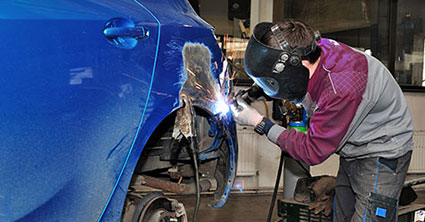 sheen training welding